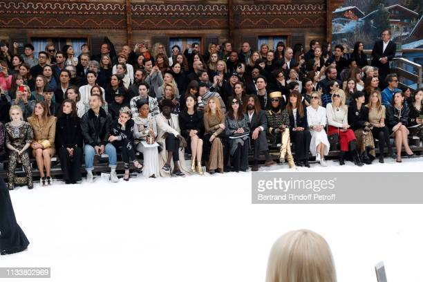 Ellie Bamber, Elisa Sednaoui, Marine Vacth, a guest, Kristen Stewart, Janelle Monae, a guest, Liu Wen, Clemence Poesy, Monica Bellucci, Nicolas...