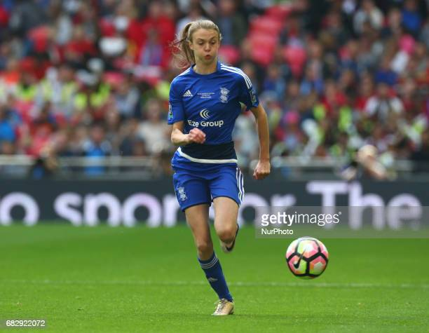 Ellie Brazil of Birmingham City LFC during The SSE FA Women's CupFinal match betweenBirmingham City Ladies v Manchester City women at Wembley stadium...