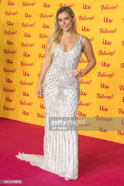 Ellie Brown attends the ITV Palooza held at The Royal Festival Hall on October 16 2018 in London England