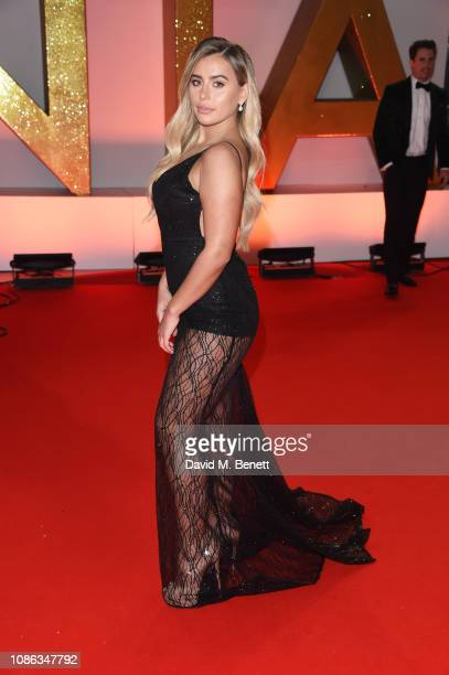 Ellie Brown attends the National Television Awards held at The O2 Arena on January 22 2019 in London England
