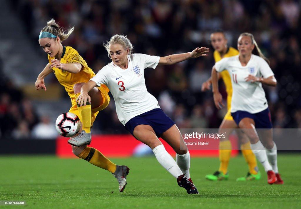 England Women v Australia Women - International Friendly : News Photo