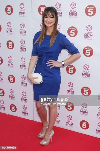 Ellie Crisell arriving for the Tesco Mum of the Year Awards at The Savoy hotel in central London