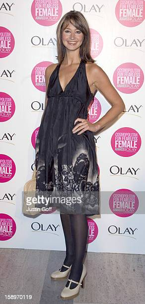 Ellie Crisell Attends The Cosmopolitan Fun Fearless Female Awards With Olay At London'S Bloomsbury Ballroom