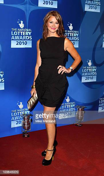 Ellie Crisell attends the National Lottery Awards at The Roundhouse on September 4 2010 in London England
