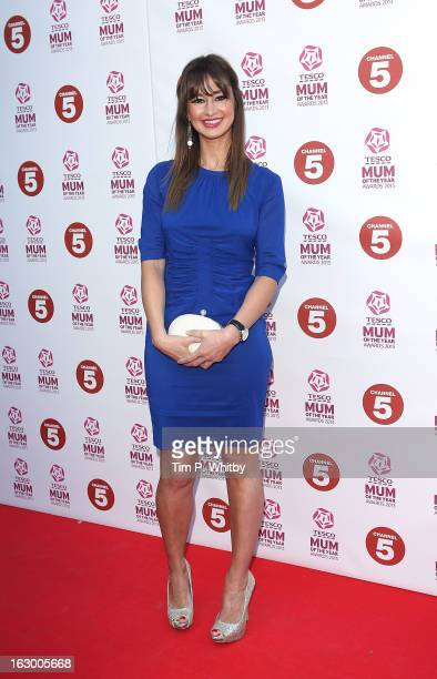 Ellie Crisell attends the Tesco Mum of the Year awards at The Savoy Hotel on March 3 2013 in London England