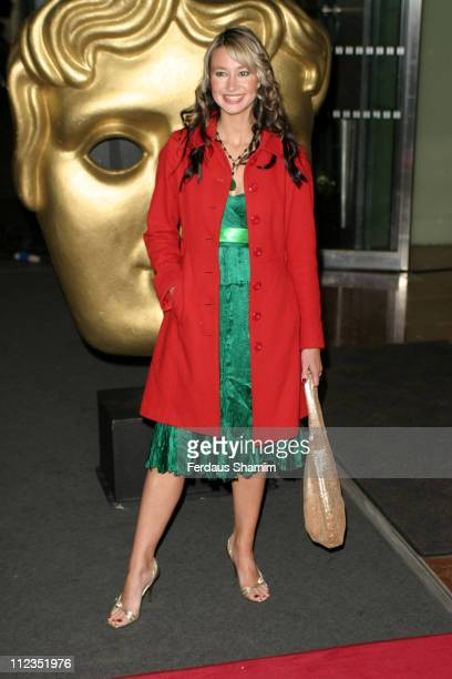 Ellie Crisell during British Academy Children's Film Television Awards 2005 at Hilton Hotel in London Great Britain