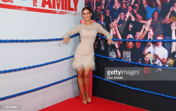 Ellie Gonsalves attends the Sydney premiere screening of Fighting With My Family at Event Cinemas George Street on February 27 2019 in Sydney...