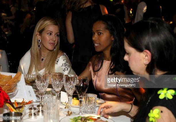 Ellie Goulding and guests attend The Fashion Awards 2018 In Partnership With Swarovski at Royal Albert Hall on December 10 2018 in London England