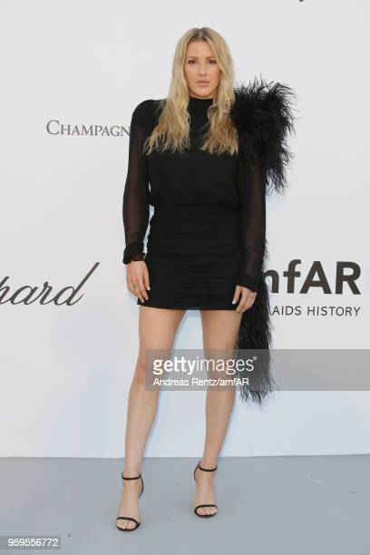 Ellie Goulding arrives at the amfAR Gala Cannes 2018 at Hotel du CapEdenRoc on May 17 2018 in Cap d'Antibes France