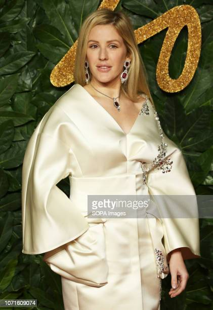 Ellie Goulding arrives at The Fashion Awards 2018 In Partnership With Swarovski at the Royal Albert Hall
