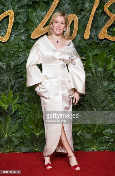 Ellie Goulding arrives at The Fashion Awards 2018 In Partnership With Swarovski at Royal Albert Hall on December 10 2018 in London England