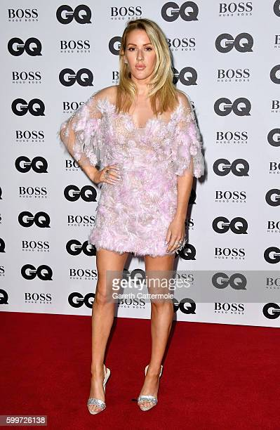 Ellie Goulding arrives for GQ Men Of The Year Awards 2016 at Tate Modern on September 6 2016 in London England