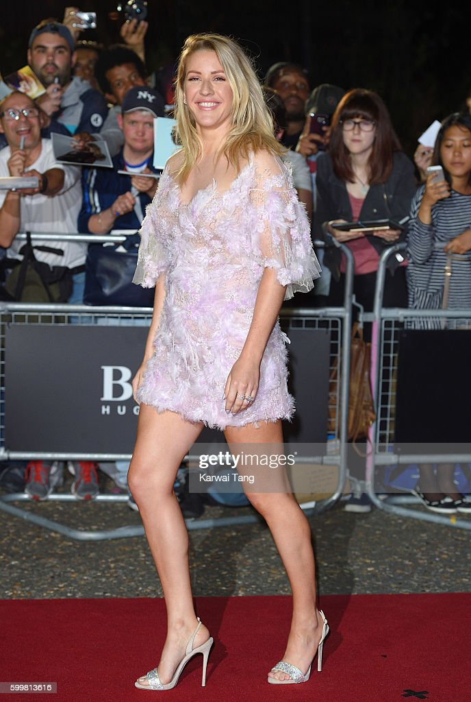 Ellie Goulding arrives for the GQ Men Of The Year Awards 2016 at Tate Modern on September 6, 2016 in London, England.