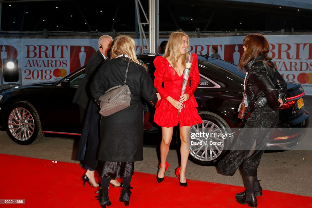 Audi At The BRIT Awards 2018 : News Photo