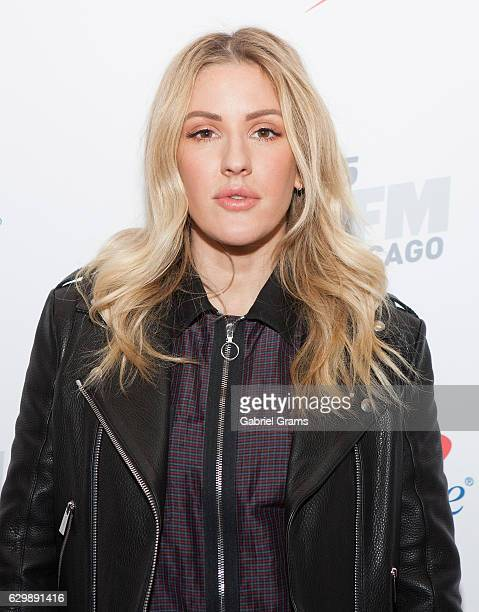 Ellie Goulding attends 103.5 KISS FM's Jingle Ball 2016 at Allstate Arena on December 14, 2016 in Chicago, Illinois.
