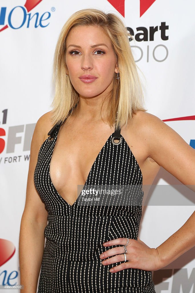 Ellie Goulding attends 106.1 KISS FM's 2015 Jingle Ball at American Airlines Center on December 1, 2015 in Dallas, Texas.