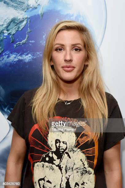 Ellie Goulding attends a special private screening of 'An Inconvenient Sequel Truth to Power' with Ellie Goulding at Bulgari Hotel on June 22 2017 in...