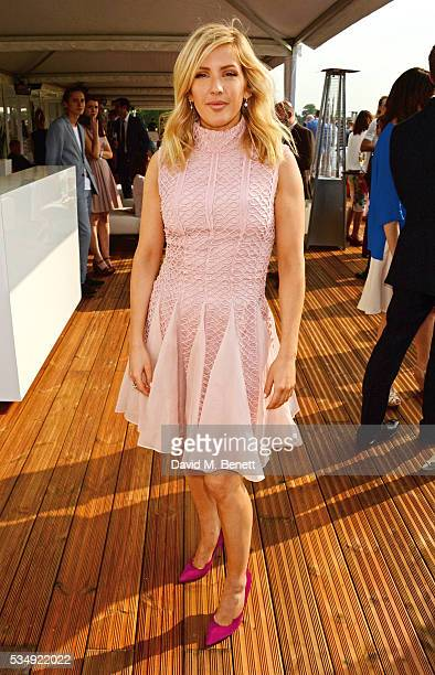 Ellie Goulding attends day one of the Audi Polo Challenge at Coworth Park on May 28 2016 in London England