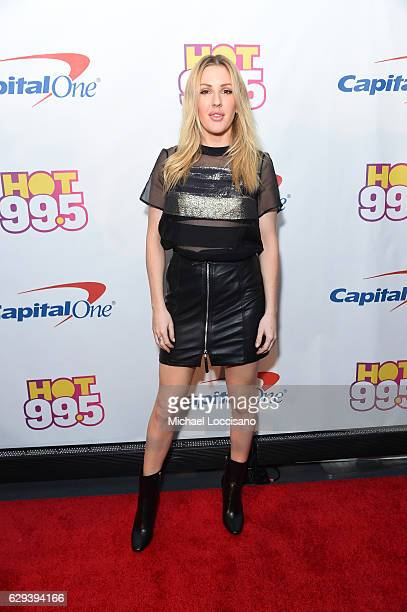 Ellie Goulding attends Hot 995's Jingle Ball 2016 at Verizon Center on December 12 2016 in Washington DC