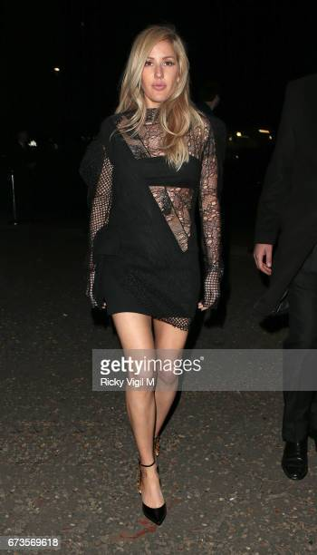 Ellie Goulding attends Lost In Space anniversary party at Tate Modern to mark the 60th anniversary of Speedmaster on April 26 2017 in London England