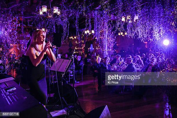 Ellie Goulding attends & performs an evening of fundraising at the Tower of London on Monday 2 November 2015, in aid of The Children's Trust. Nick...