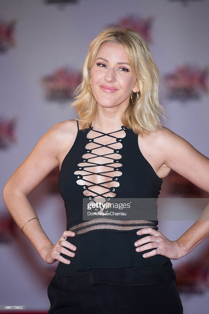 Ellie Goulding attends the 17th NRJ Music Awards at Palais Des Festivals In Cannes on November 7, 2015 in Cannes, France.