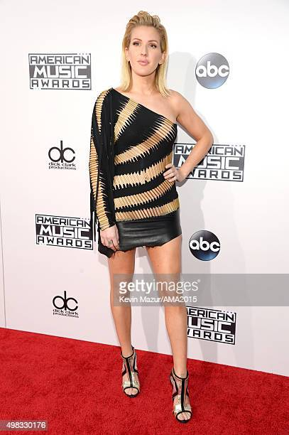 Ellie Goulding attends the 2015 American Music Awards at Microsoft Theater on November 22 2015 in Los Angeles California