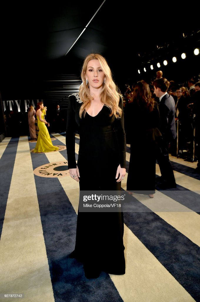 Ellie Goulding attends the 2018 Vanity Fair Oscar Party hosted by Radhika Jones at Wallis Annenberg Center for the Performing Arts on March 4, 2018 in Beverly Hills, California.