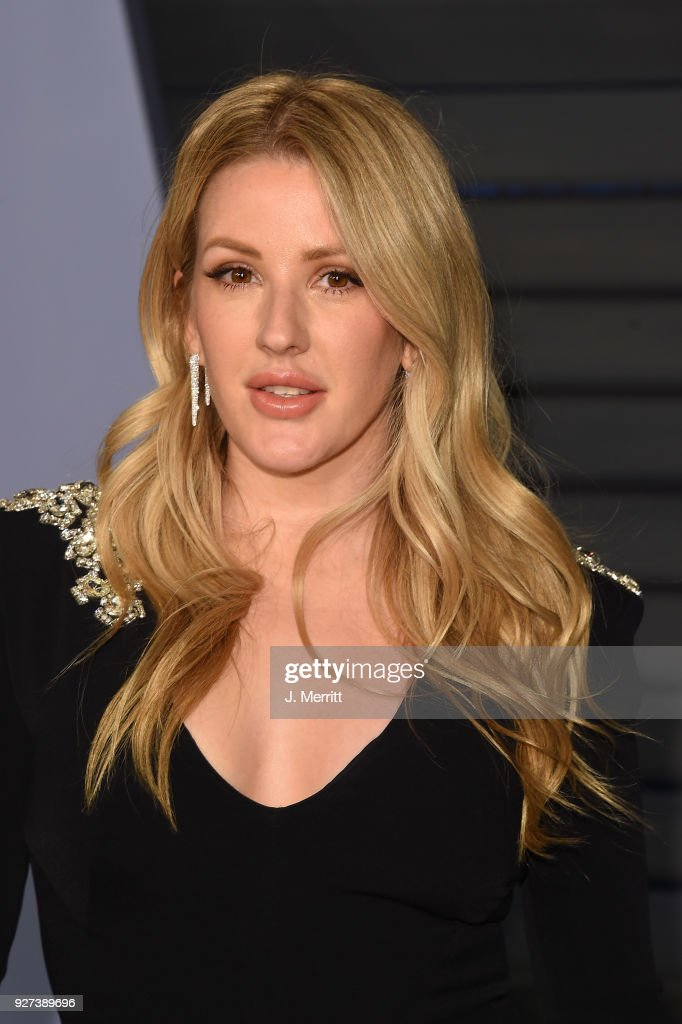 Ellie Goulding attends the 2018 Vanity Fair Oscar Party hosted by Radhika Jones at the Wallis Annenberg Center for the Performing Arts on March 4, 2018 in Beverly Hills, California.