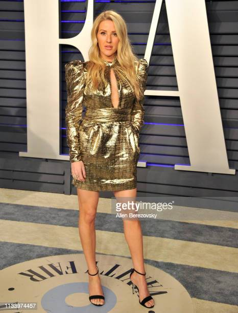 Ellie Goulding attends the 2019 Vanity Fair Oscar Party hosted by Radhika Jones at Wallis Annenberg Center for the Performing Arts on February 24...