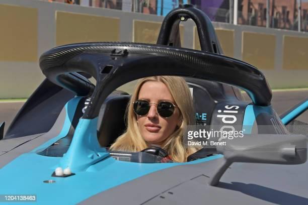 Ellie Goulding attends The ABB FIA Formula E 2020 Marrakesh EPrix on February 29 2020 in Marrakesh Morocco