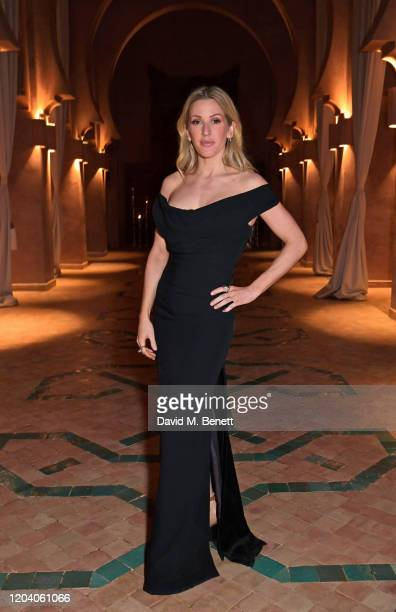 Ellie Goulding attends The ABB FIA Formula E Championship pre-race dinner ahead of the Marrakesh E-Prix on February 28, 2020 in Marrakesh, Morocco.