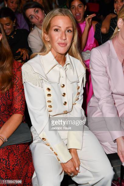 Ellie Goulding attends the Alberta Ferretti fashion show during the Milan Fashion Week Spring/Summer 2020 on September 18, 2019 in Milan, Italy.