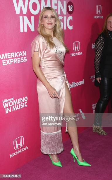 Ellie Goulding attends the Billboard's 13th Annual Women in Music event at Pier 36 on December 6 2018 in New York City
