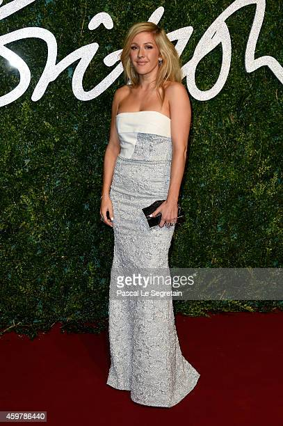 Ellie Goulding attends the British Fashion Awards at London Coliseum on December 1 2014 in London England