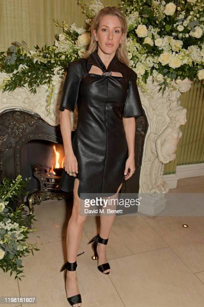 Ellie Goulding attends the British Vogue and Tiffany & Co. Fashion and Film Party at Annabel's on February 2, 2020 in London, England.