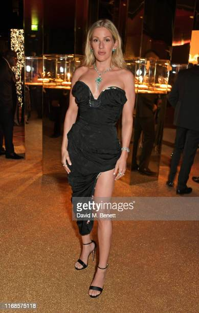 Ellie Goulding attends the Bvlgari Serpenti Seduttori launch at the Roundhouse on September 15 2019 in London England