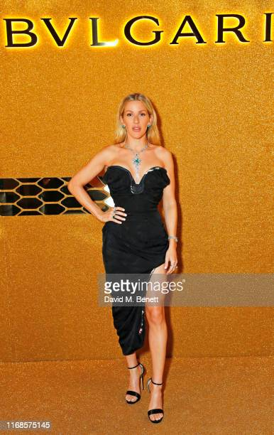 Ellie Goulding attends the Bvlgari Serpenti Seduttori launch at the Roundhouse on September 15, 2019 in London, England.