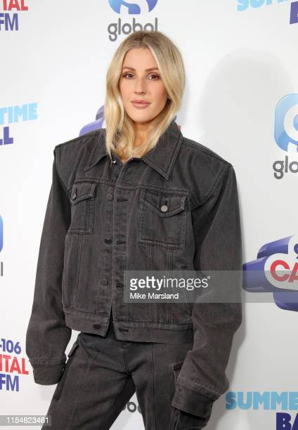 Ellie Goulding attends the Capital FM Summertime Ball at Wembley Stadium on June 08, 2019 in London, England.