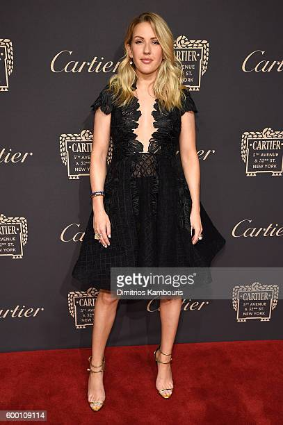 Ellie Goulding attends the Cartier Fifth Avenue Grand Reopening Event at the Cartier Mansion on September 7 2016 in New York City