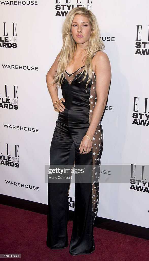 Ellie Goulding attends the Elle Style Awards 2014 at one Embankment on February 18, 2014 in London, England.