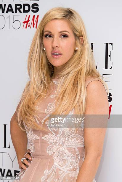 Ellie Goulding attends the Elle Style Awards 2015 at Sky Garden @ The Walkie Talkie Tower on February 24 2015 in London England