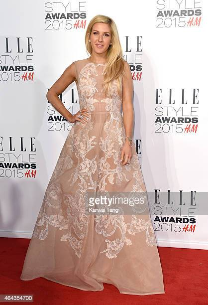 Ellie Goulding attends the Elle Style Awards 2015 at Sky Garden @ The Walkie Talkie Tower on February 24 2015 in London UK