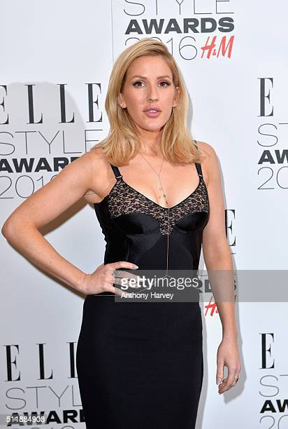 Ellie Goulding attends The Elle Style Awards 2016 on February 23 2016 in London England
