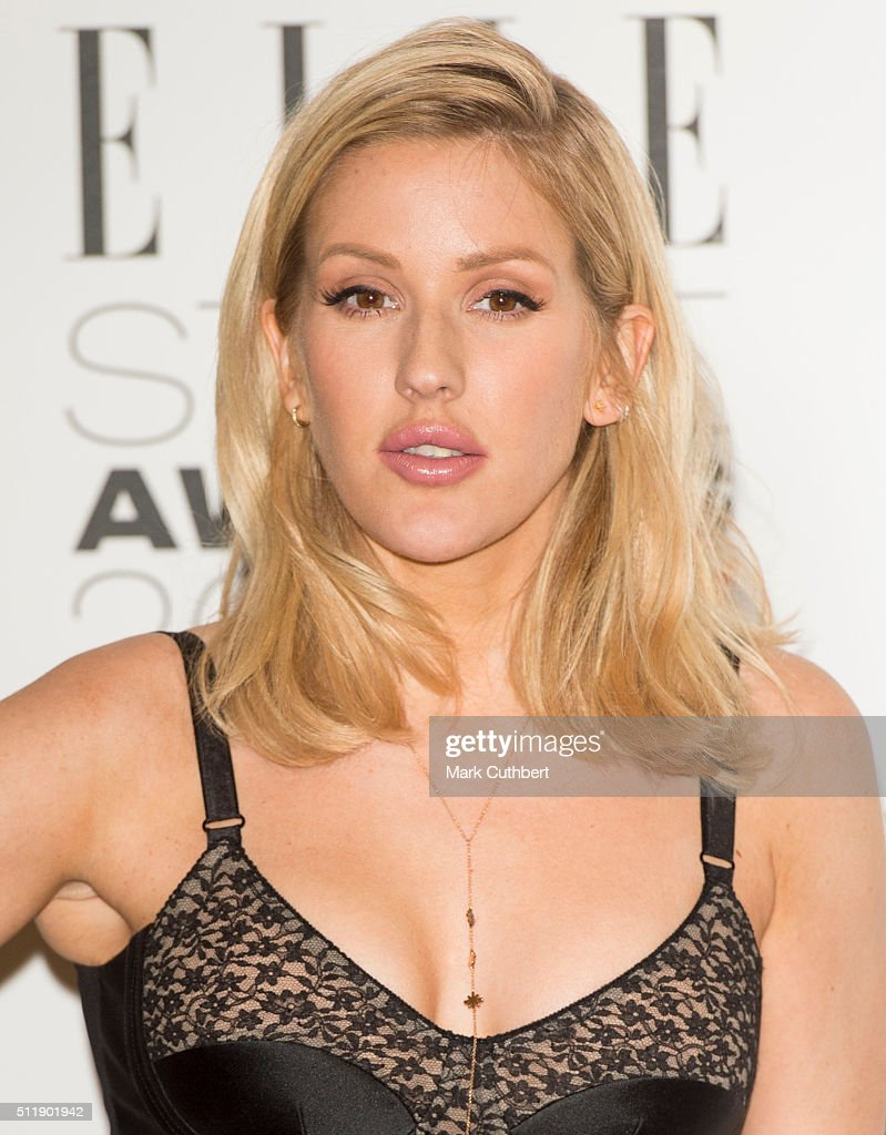 Ellie Goulding attends The Elle Style Awards 2016 on February 23, 2016 in London, England.