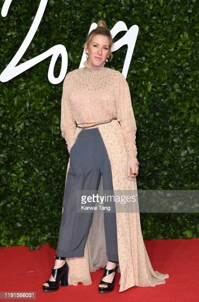 Ellie Goulding attends The Fashion Awards 2019 at the Royal Albert Hall on December 02, 2019 in London, England.