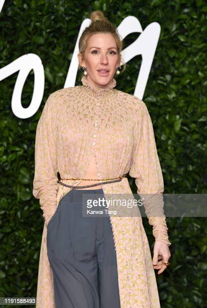 Ellie Goulding attends The Fashion Awards 2019 at the Royal Albert Hall on December 02 2019 in London England