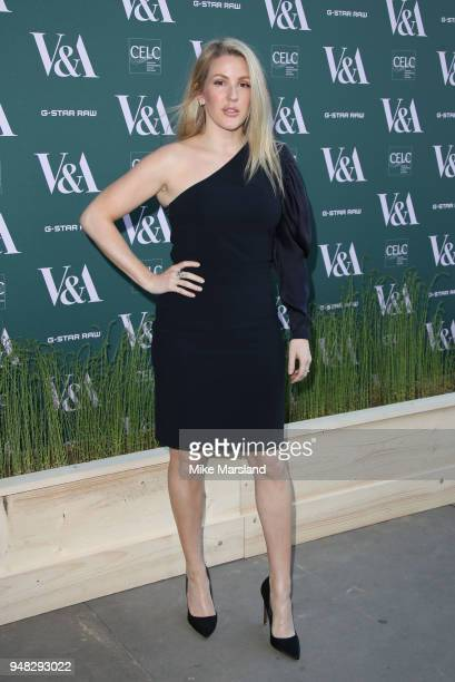 Ellie Goulding attends the Fashioned From Nature VIP preview at The VA on April 18 2018 in London England