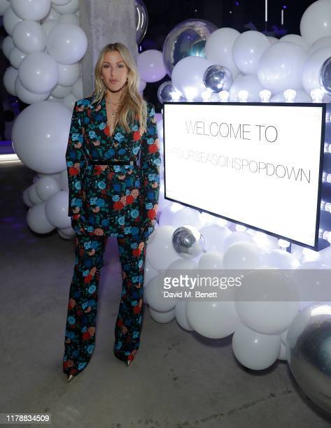 Ellie Goulding attends the Four Seasons Pop Down on October 03 2019 in London England