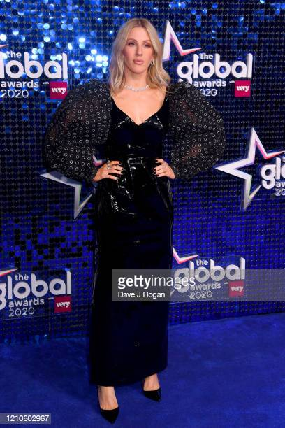 Ellie Goulding attends The Global Awards 2020 at Eventim Apollo Hammersmith on March 05 2020 in London England